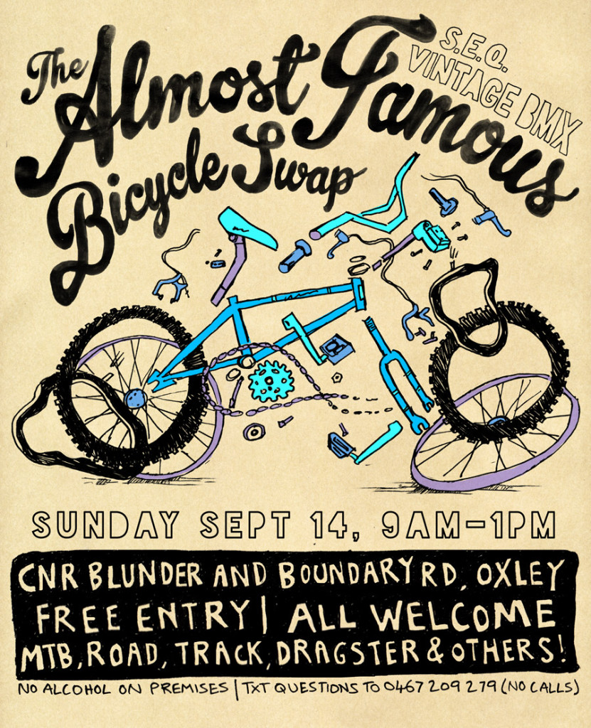 2014 September Almost Famous Brisbane BMX Swap Meet